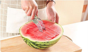 New Stainless Steel Watermelon Slicer