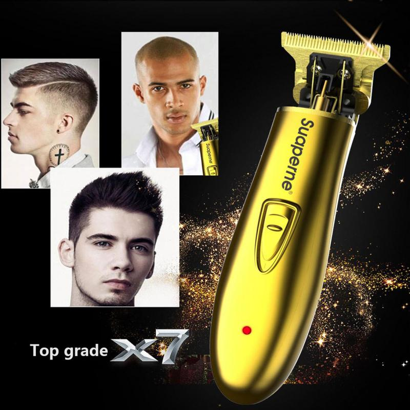 Suaperne - Dual-Voltage Rechargeable Cordless Trimmer Men Baldheaded Hair Clipper