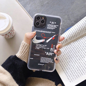 Air Case for iPhone - Creative Tide Brand Label Design