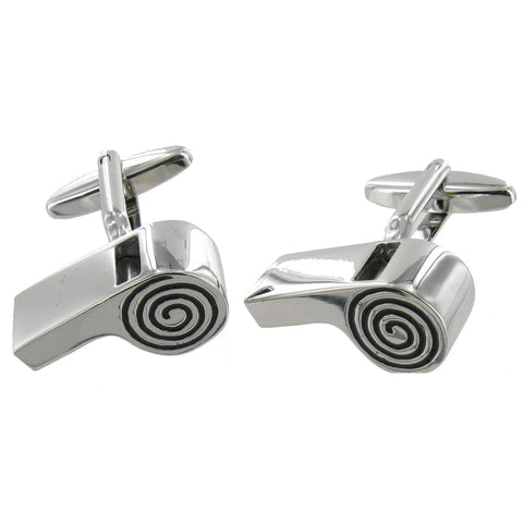 Whistle Cuff Links