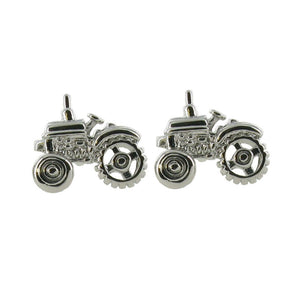 Stainless Tractors Cuff links