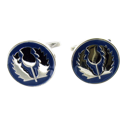 Thistle Cuff Links