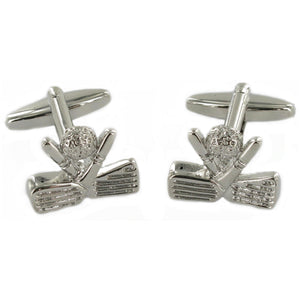 Golf Clubs Cuff Links
