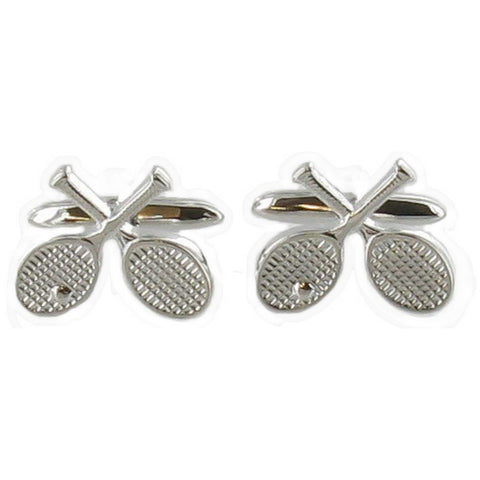 Tennis Racket Cuff Links