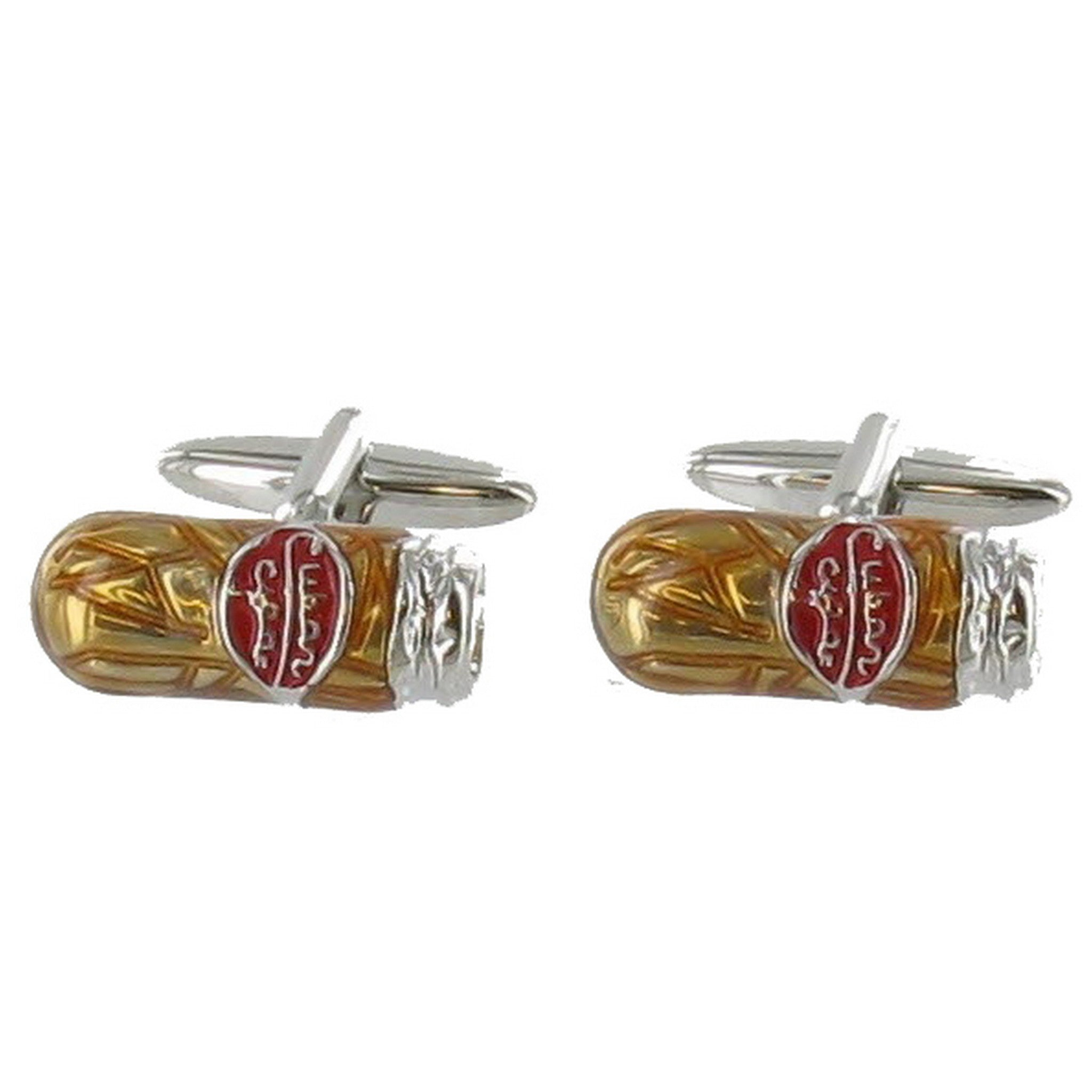 Cigar Cuff Links