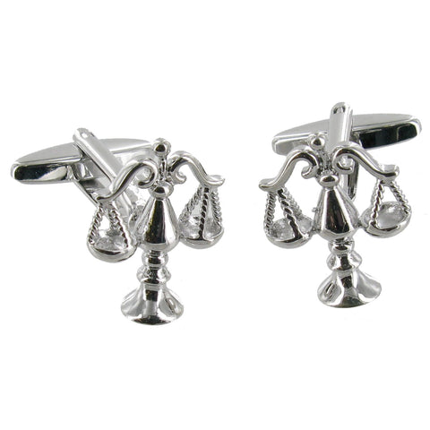 Justice Scales Cuff Links