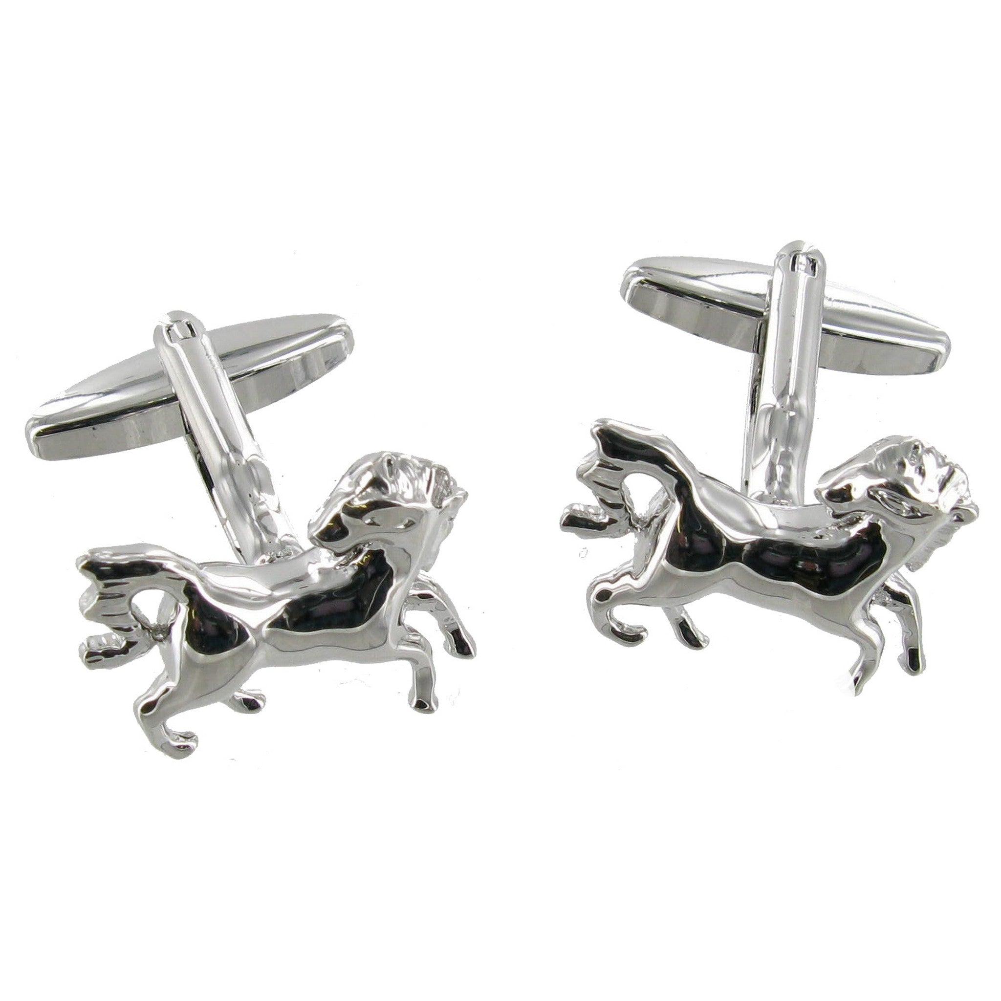 Prancing Horses Cuff Links
