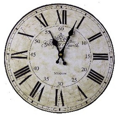 Gllicot Smith Wall Clock, 34 cm diameter