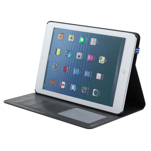 Black PU Folio and Stand for IPAD
