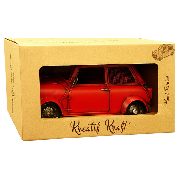 British Car Small 22x11x14cm Metal Model
