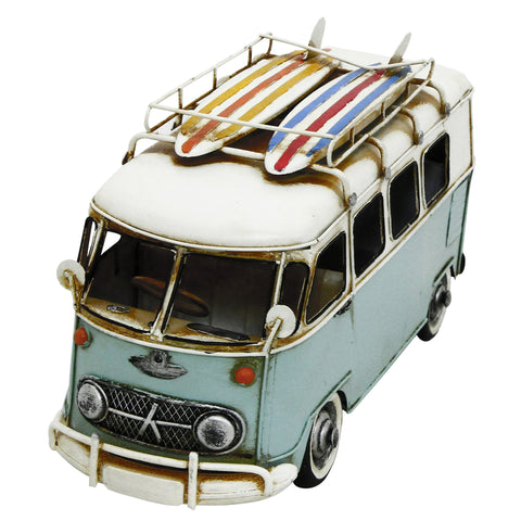 Campervan 25x15x12cm Metal Model