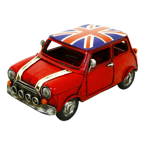 British Car Large 30x13x17 cm Metal Model