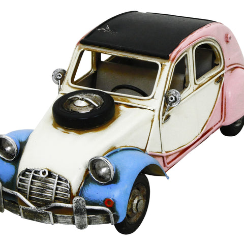 French Car 31x16x15cm Metal Model