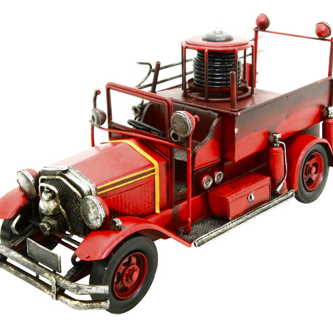 Fire Engine 45x23x19cm Metal Model