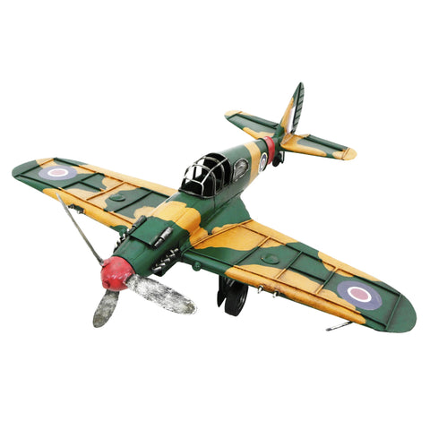 Fighter Plane 44x36x15cm Metal Model