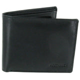 Black Leather Notecase With Card Space