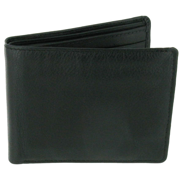 Calf Nappa Notecase & 8 Credit Card Space and Zip Compartment