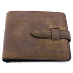 Spanish Leather Wallet with Credit Card Space & Coint Pocket