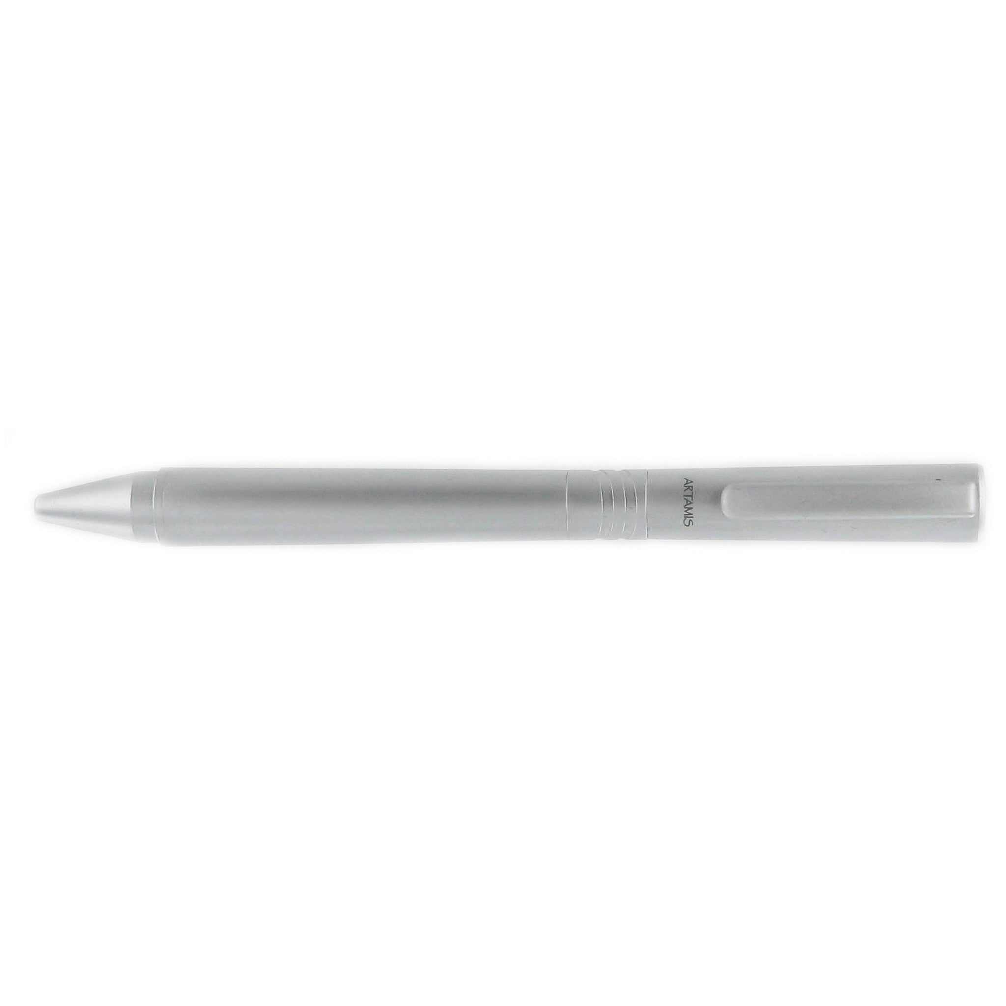 Grand Libra Twist Ballpoint Pen, Silver Satin Finish