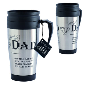 """World's Best Dad"" Travel Mug"