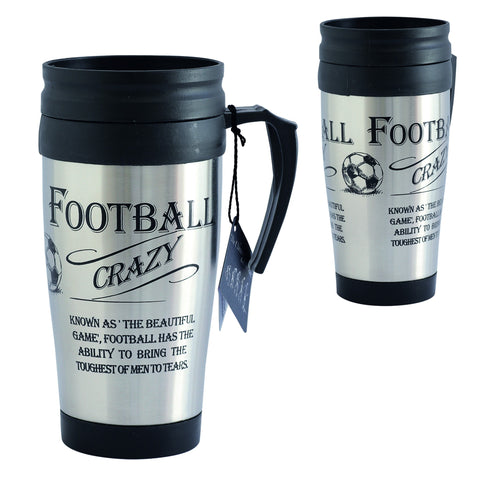 """The Football Crazy"" Travel Mug"
