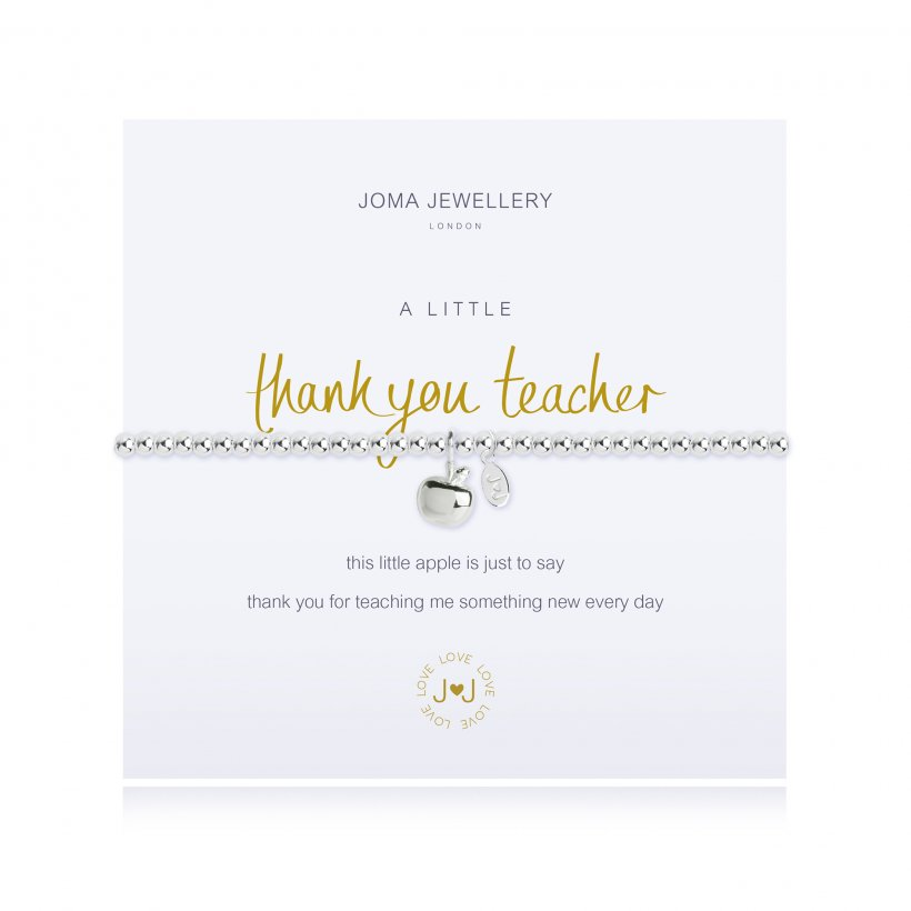 Joma Bracelet - Thank You Teacher