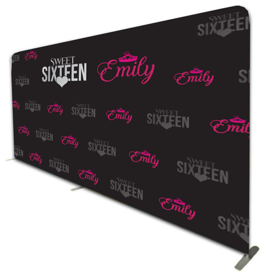 Tension Fabric Red Carpet Banners - 590 cm wide