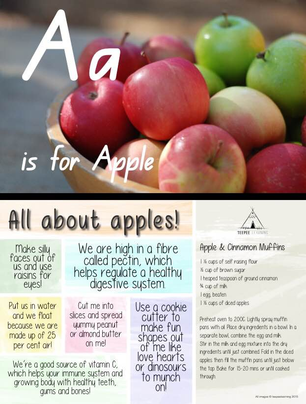 Healthy Alphabet Cards - DIGITAL DOWNLOAD PDF