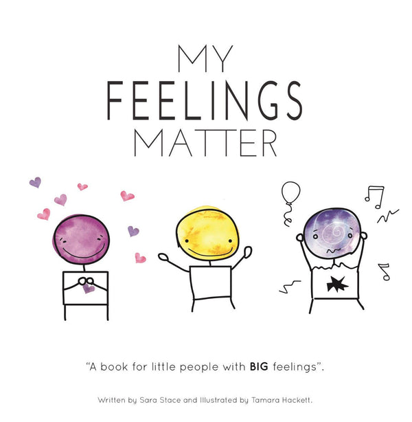 My Feelings Matter Book