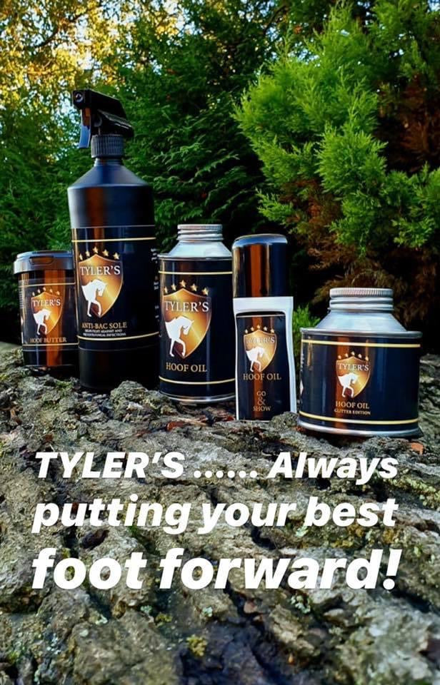 Tyler's products from Ryder Equine