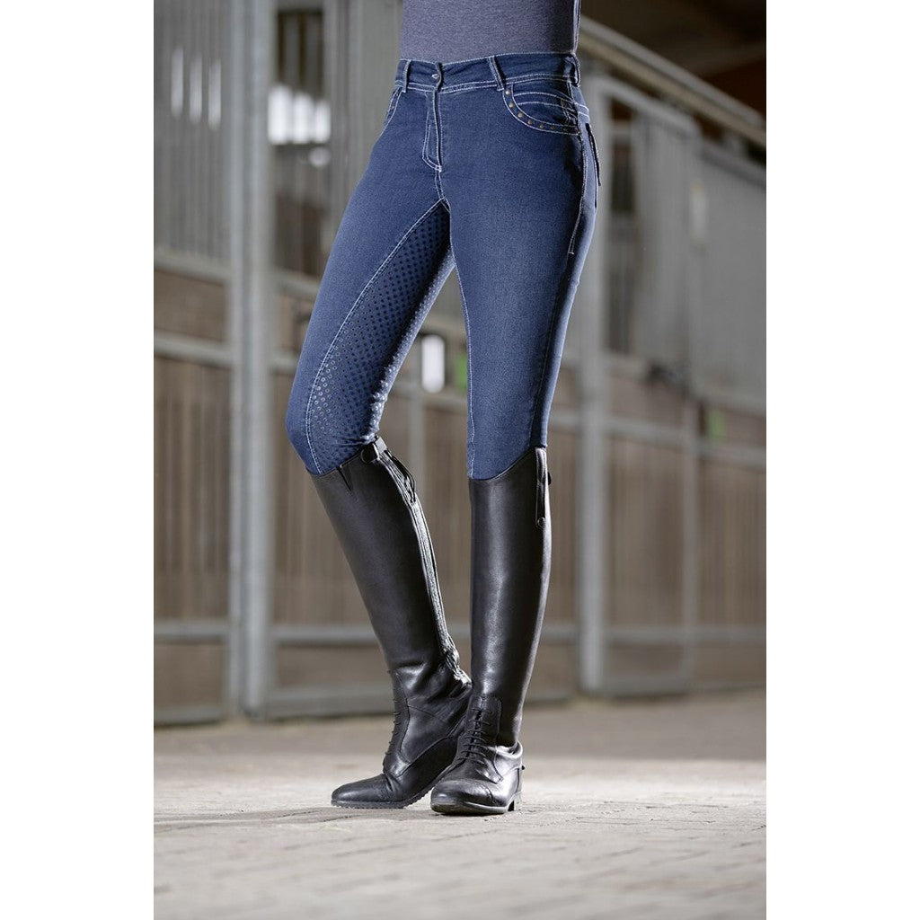 HKM - Pasadena Denim Riding breeches