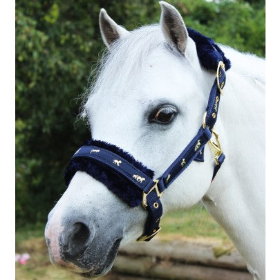 Gallop Fluffy Headcollar With Removable Fur