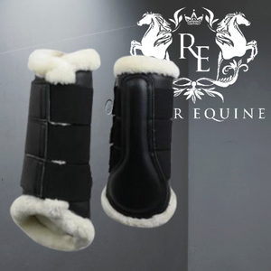 Gallop Prestige Faux Fur Brushing Boot