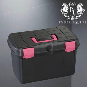 Plastica Panaro Groom Box Black/Fuchsia