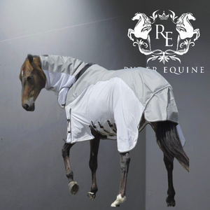 Rhinegold Zambia Full Neck Outdoor/Fly Rug With Waterproof Topline And Side Skirts