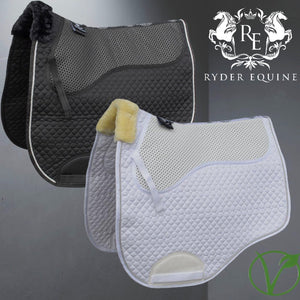 Rhinegold Non-Slip Gel Straighter Cut Saddle Cloth