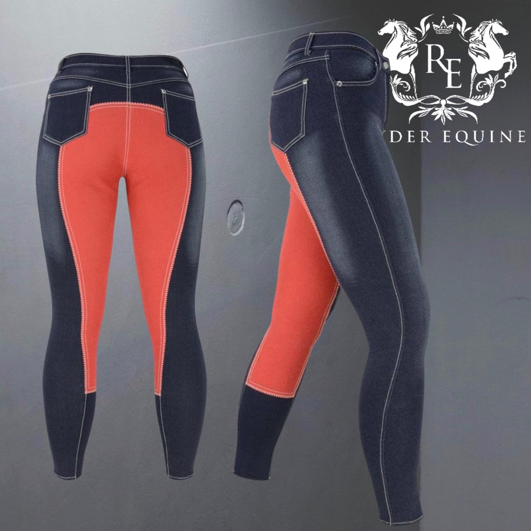 HyPERFORMANCE Denim Look Breeches