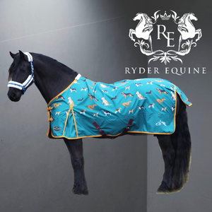Gallop Dog Print Lightweight Turnout Rug