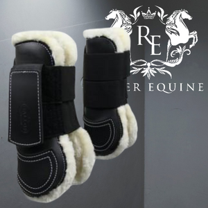 Gallop Prestige Faux Fur Lined Tendon Boot