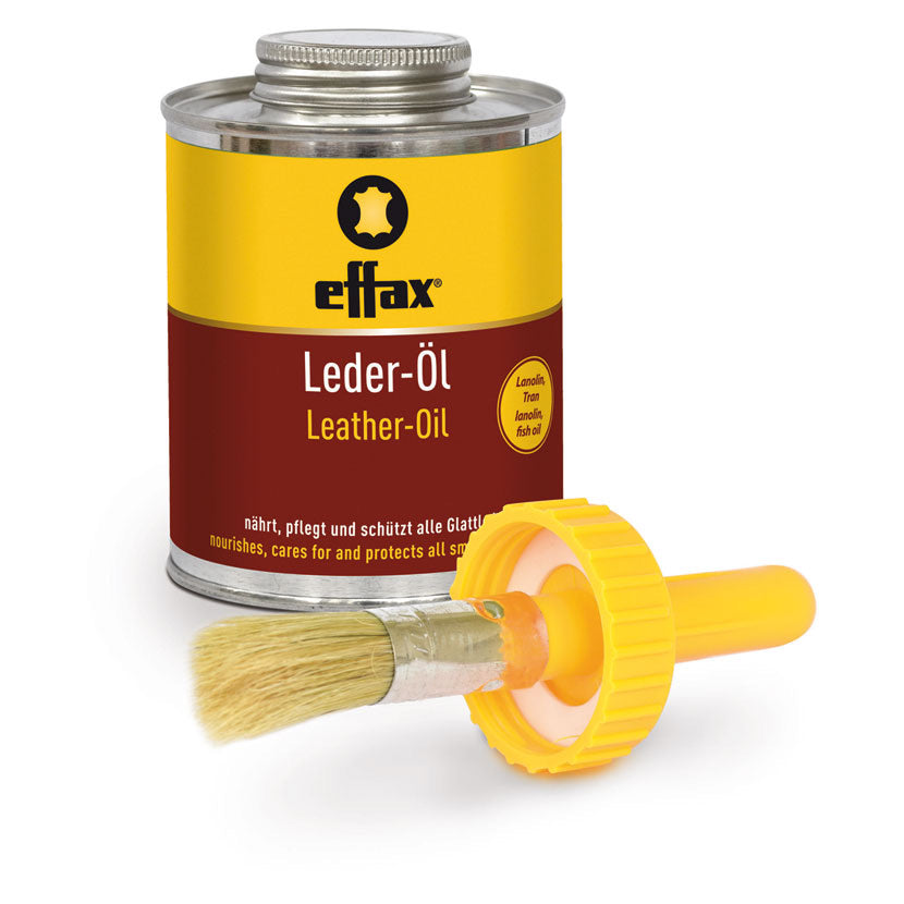 Effax Leather Oil - Tin with Brush