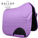 Gallop Quilted Dressage Saddle Pad - Lavender