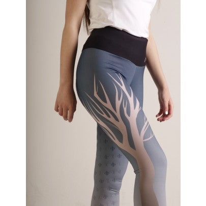Gallop Deco Full Silicone Seat Tights