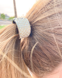 Mother of Pearl Ponytail Holder