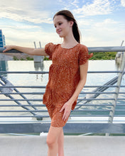 Load image into Gallery viewer, Rust Babydoll Dress
