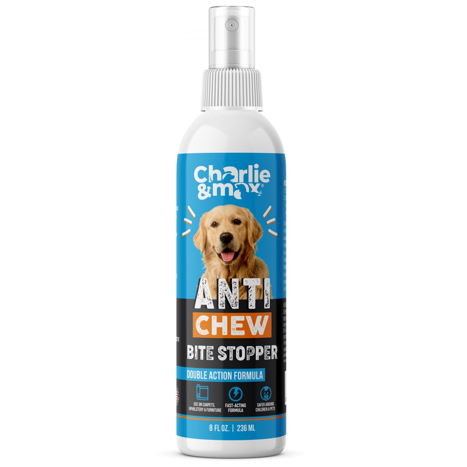 Premium Anti-Chew Spray For Dogs And Cats - 8 Oz.