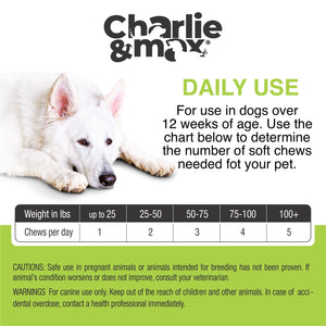 Advanced Calming Chews - Natural Sleep Aid, Relaxation & Anxiety Relief - Charlie & Max®