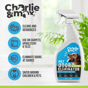 The Ultimate Pet Odor And Stain Eliminator - Charlie & Max®