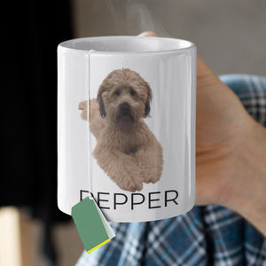 Pet on a Mug by Charlie & Max - Charlie & Max®