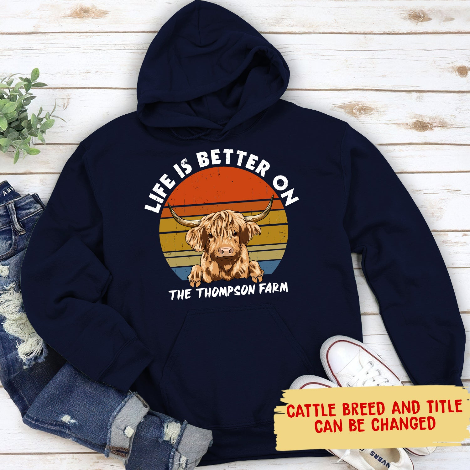 A Better Life - Personalized Custom Hoodie
