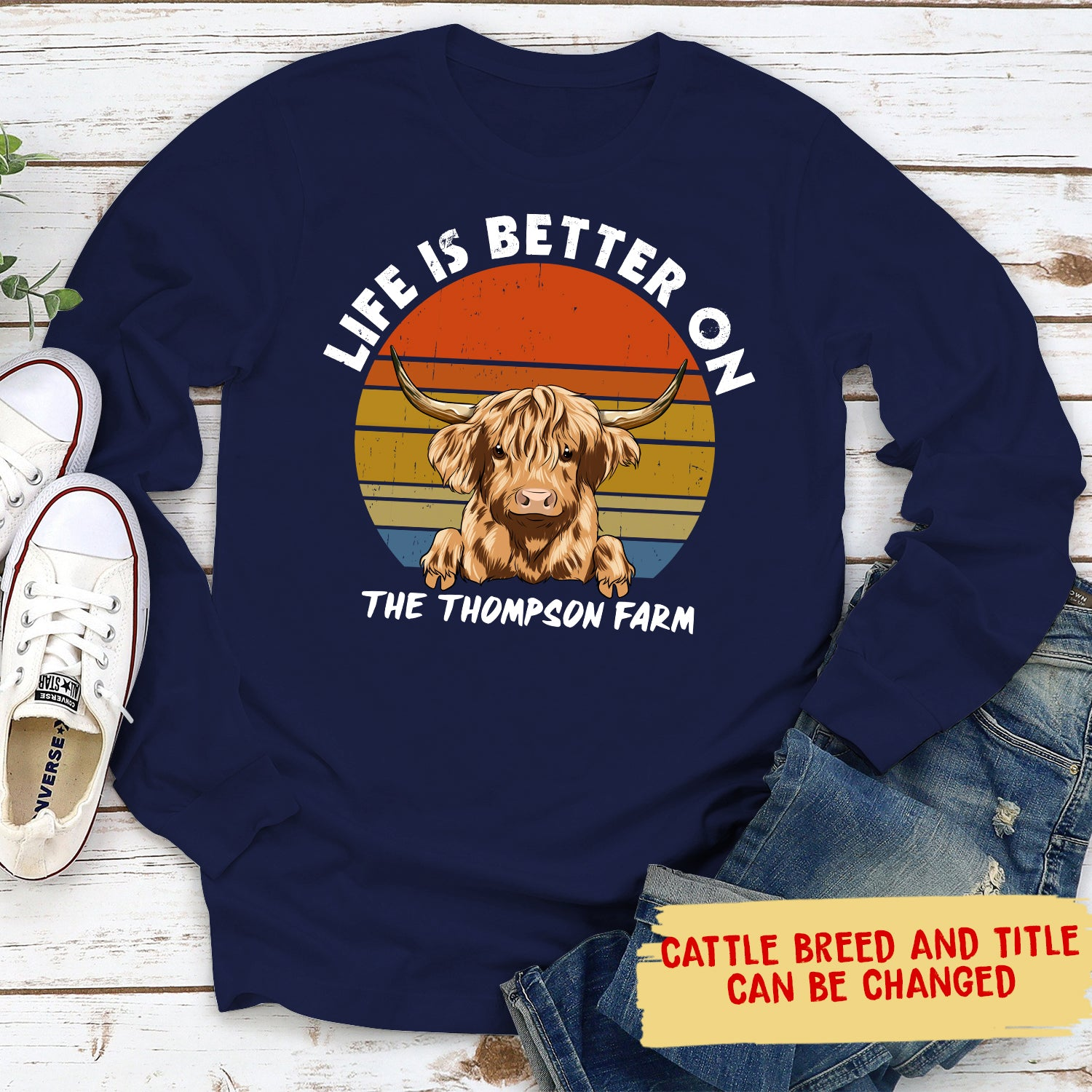 A Better Life - Personalized Custom Long Sleeve